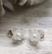 Vintage お花モチーフのイヤリング