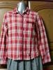 EAST BOY|赤チェックのウエスタン風シャツ Mサイズ 古着