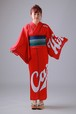 2020カープ浴衣 Basic(赤) レディースS~L 背番号なし ポリエステル100% 仕立て上がり