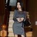 【ワンピース】フェミニンファッションタイトスカートセクシーワンピース17241639