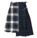 [UNION ROLL SKIRT] TARTAN/BLACK WATCH