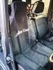 AG2102 ワンタッチカーシートカバー 1枚 ロゴホワイトプリント