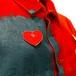 PATRICK KELLY HEART PIN