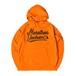 LOGO HOODIE M381509-ORANGE / フード スウェット パーカー オレンジ MARATHON JACKSON マラソン ジャクソン