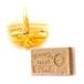 フランス製 マルセラ(マルセイユ石鹸 せっけん 石けん)スクラブダブルフェイスソープ ハニー 125g (固形石鹸)