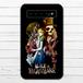 #044-017 モバイルバッテリー おすすめ おしゃれ メンズ 人気 女子 不思議の国のアリス iphone Android スマホ 充電器 タイトル:Alice in Nightmare 作:kis