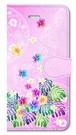 【iPhone5/5s/SE】 Sweet Pink Paradise スィート・ピンク・パラダイス 手帳型スマホケース