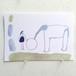 Post Card ポストカード「recevoir」