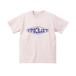 飛び出すロゴTシャツ (ピンク / パープル)