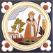 絵タイル:ATCC-006(クラシカルスタイル 農婦)