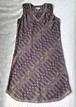 【インド古着】アノーキのワンピース(限定一着)。アロエヴェラ・タブレットのサンプル付き