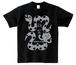 2013ヘビ猫Tシャツ (グレー)