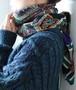 Yves Saint laurent wool stall