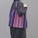 メキシコ織物バッグ(マルチストライプ柄)B