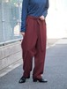 【SALE】LCDD High Waist Pants Burgundy