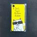 【保護猫募金商品】サングラスねこ iPhoneXRケース 猫 即納 黄色 イエロー