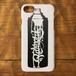 RAKUGAKI SPRAY CAN Logo Hard iPhone Case White x Black For iPhone 7