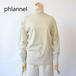 Phlannel sol/フランネル・suvin cotton turtleneck T