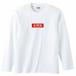 BOXロゴ 長袖Tシャツ