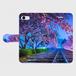 (iPhone8/7 サイズ)手帳タイプ:夢色の軌道(KAGAYA)