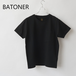 BATONER/バトナー・High Count Organic Cotton T-Shirt