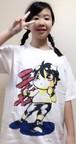 篠瀬三十七キャラTシャツ