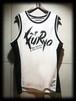 FuRyo / BASKETBALL SHIRT(WHITE×BLACK)