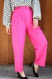 pink silk pants