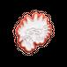 「動植綵絵」のうち 「紫陽花双鶏図」部分 伊藤若冲 0182