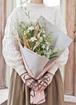 草花系 花束 ホワイト S スタンダード
