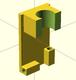 受信機・アンテナホルダー レッグマウント 3Dプリントパーツ