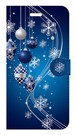 【iPhone6Plus/6sPlus】Winter Holiday Royal Blue ウィンター・ホリデー ロイヤルブルー 手帳型スマホケース