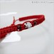 マルタ十字のブレスレット 01【RED】