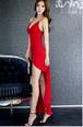 キャミソールワンピース ドレス スリット セクシー Vネック マキシ丈 タイト ウエストスリム 春 夏 お呼ばれ パーティー t560