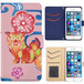Jenny Desse HUAWEI P8lite ケース 手帳型 カバー スタンド機能 カードホルダー ピンク(ホワイトバック)