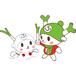 フィルター・ストッパー付き ふっかちゃんマスク / No.044【雪ふっか】