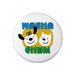 wachachum Icon 缶バッジ 32mm