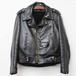80'S 極上 vintage leather riders jacket   48