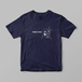 格闘技 三角絞め(トライアングルチョーク)Tシャツ(ネイビー)【数量限定】