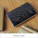 木製タバコケース KEMURI_wenge