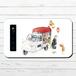 #081-018 モバイルバッテリー 妖怪 かわいい おしゃれ 可愛い iphone スマホ 充電器 タイトル:玩具屋 つげのくし 作:嘉村ギミ