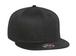 002 CAPサイドロゴ ブラック・ブラック