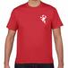 【コロナ退散】Tシャツ赤 薬師如来