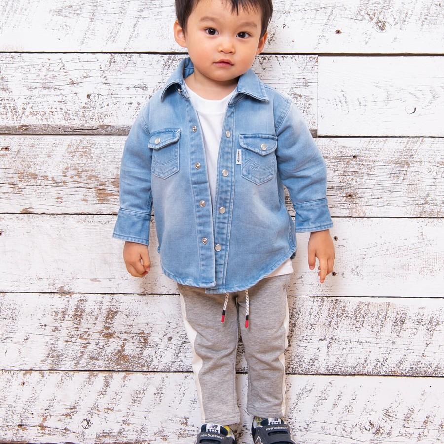 年齢:2歳7ヶ月 身長:88cm 体重:11kg 着用サイズ:18-24month