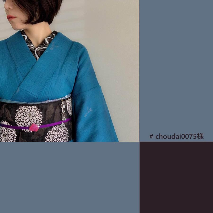 インスタグラムで人気の着物スタイリスト、小倉奈夕子さんのコーデにうっとり♪
