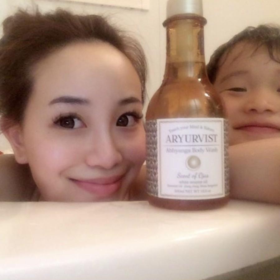 お子さまも一緒に洗って、ボディクリームは必要なし!