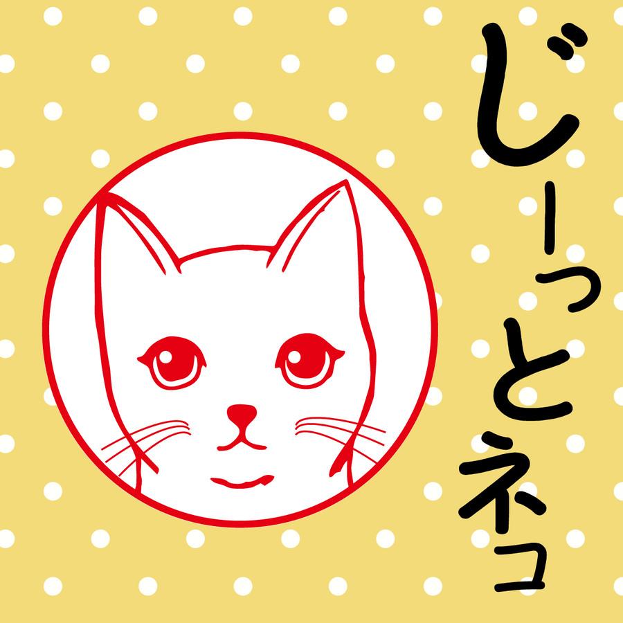 商品名「じーっとネコ」です。