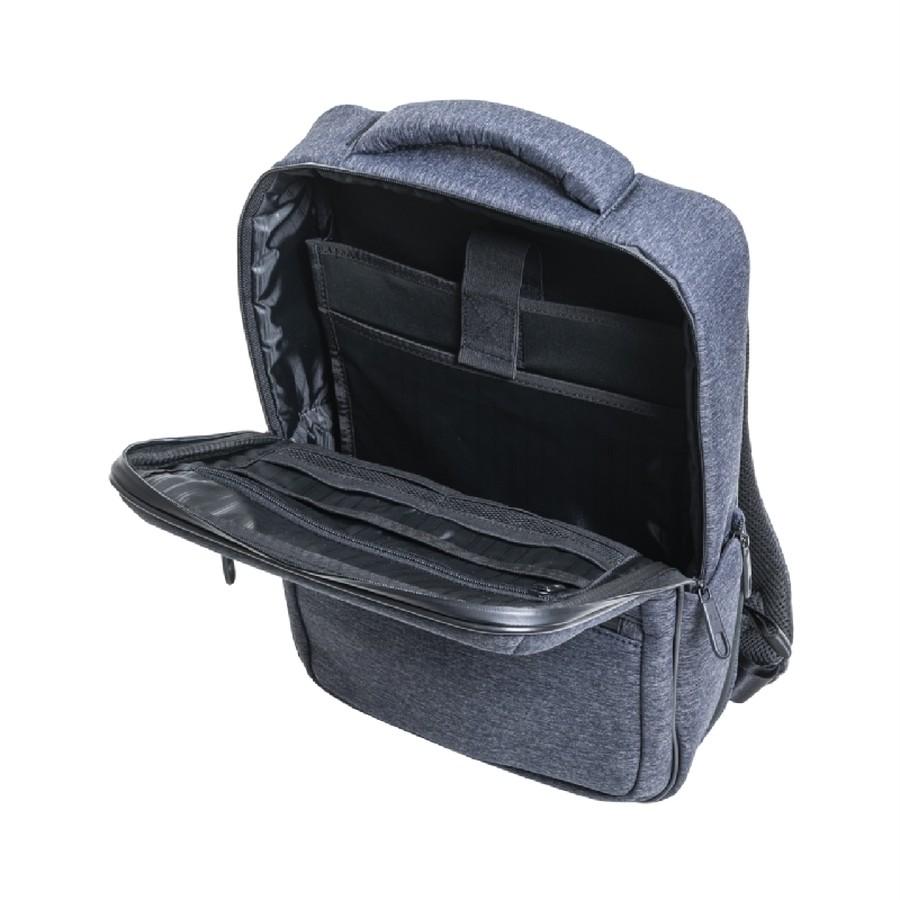 ウレタン材入りパソコン収納ポケット+タブレットポケット(14インチ対応)