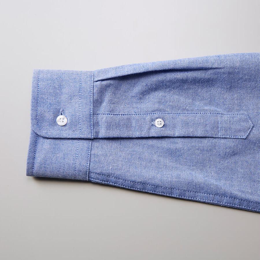 OXブルー 袖