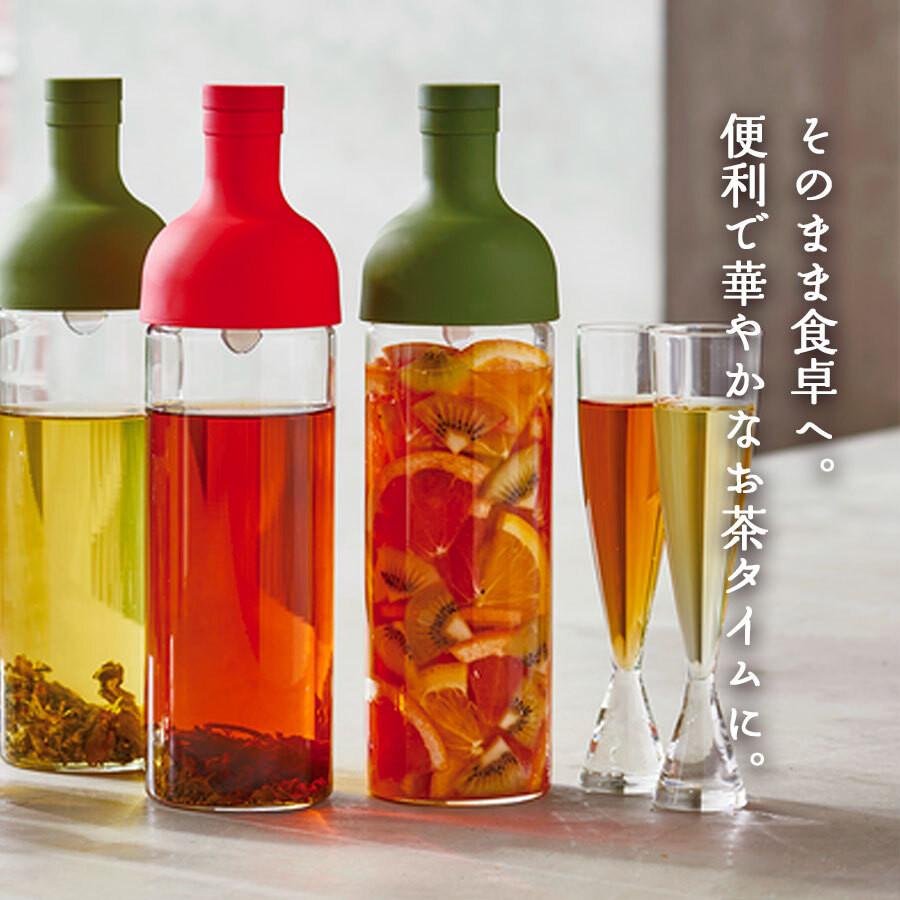 お茶はもちろん、お出汁やフルーツティーなど用途は様々
